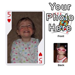 Avery Cards By Pat   Playing Cards 54 Designs   0u3rpi1f9iuv   Www Artscow Com Front - Heart5