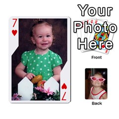 Avery Cards By Pat   Playing Cards 54 Designs   0u3rpi1f9iuv   Www Artscow Com Front - Heart7