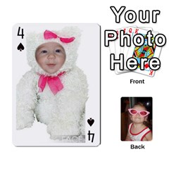 Avery Cards By Pat   Playing Cards 54 Designs   0u3rpi1f9iuv   Www Artscow Com Front - Spade4
