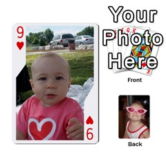 Avery Cards By Pat   Playing Cards 54 Designs   0u3rpi1f9iuv   Www Artscow Com Front - Heart9