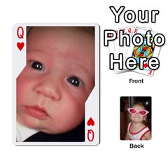 Queen Avery Cards By Pat   Playing Cards 54 Designs   0u3rpi1f9iuv   Www Artscow Com Front - HeartQ