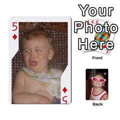 Avery Cards By Pat   Playing Cards 54 Designs   0u3rpi1f9iuv   Www Artscow Com Front - Diamond5