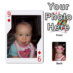 Avery Cards By Pat   Playing Cards 54 Designs   0u3rpi1f9iuv   Www Artscow Com Front - Diamond9