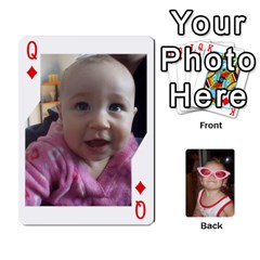 Queen Avery Cards By Pat   Playing Cards 54 Designs   0u3rpi1f9iuv   Www Artscow Com Front - DiamondQ