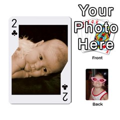 Avery Cards By Pat   Playing Cards 54 Designs   0u3rpi1f9iuv   Www Artscow Com Front - Club2
