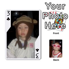 Avery Cards By Pat   Playing Cards 54 Designs   0u3rpi1f9iuv   Www Artscow Com Front - Club3