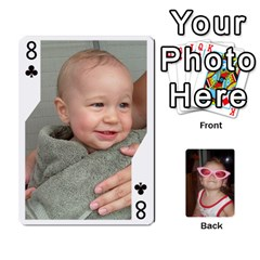 Avery Cards By Pat   Playing Cards 54 Designs   0u3rpi1f9iuv   Www Artscow Com Front - Club8
