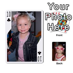 Avery Cards By Pat   Playing Cards 54 Designs   0u3rpi1f9iuv   Www Artscow Com Front - Club10