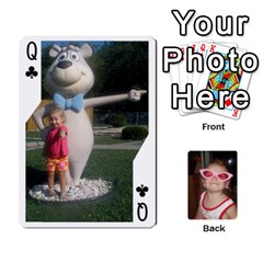 Queen Avery Cards By Pat   Playing Cards 54 Designs   0u3rpi1f9iuv   Www Artscow Com Front - ClubQ