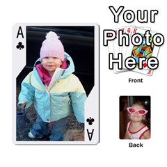 Ace Avery Cards By Pat   Playing Cards 54 Designs   0u3rpi1f9iuv   Www Artscow Com Front - ClubA