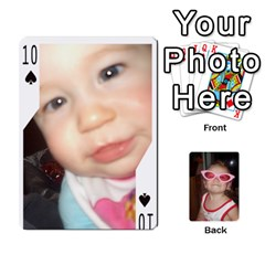 Avery Cards By Pat   Playing Cards 54 Designs   0u3rpi1f9iuv   Www Artscow Com Front - Spade10
