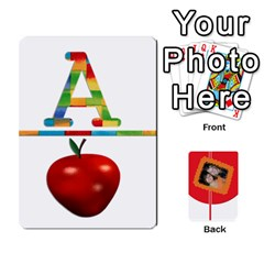 Flash Cards (set 2) By Brookieadkins Yahoo Com   Playing Cards 54 Designs   3iemoq2zfmhn   Www Artscow Com Front - Spade2