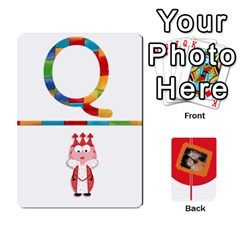 Flash Cards (set 2) By Brookieadkins Yahoo Com   Playing Cards 54 Designs   3iemoq2zfmhn   Www Artscow Com Front - Club5