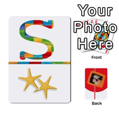 Flash Cards (set 2) By Brookieadkins Yahoo Com   Playing Cards 54 Designs   3iemoq2zfmhn   Www Artscow Com Front - Club7