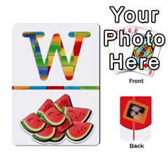 Flash Cards (set 2) By Brooke Adkins (my Time Scraps)   Playing Cards 54 Designs   3iemoq2zfmhn   Www Artscow Com Front - Club10