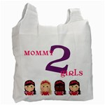 Mom to girls - Recycle Bag (One Side)