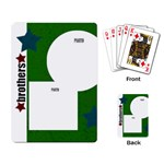 Brothers Playing Cards - Playing Cards Single Design