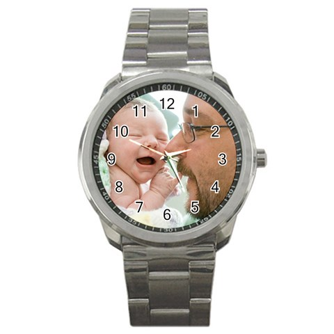 Watch For Cheryl By Chantel Reid Demeter   Sport Metal Watch   Kk14s10rj7k7   Www Artscow Com Front