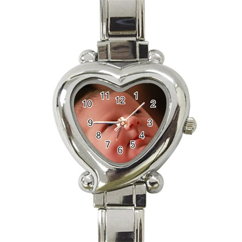Heart Shaped Watch Option For Cheryl By Chantel Reid Demeter   Heart Italian Charm Watch   Ii6vpzqc7x03   Www Artscow Com Front