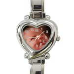 Heart Shaped Watch Option for Cheryl - Heart Italian Charm Watch