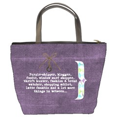 Bucket Bag Purple Missy By Purplekiss   Bucket Bag   L2xlp5k5conf   Www Artscow Com Back