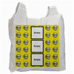 Beers yellow -  BAG - Recycle Bag (One Side)