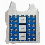 Beers blue -  BAG - Recycle Bag (One Side)