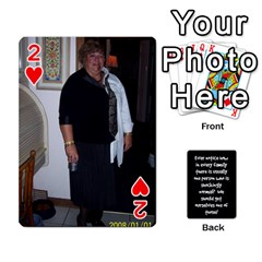 Cathycards By Cheryl   Playing Cards 54 Designs   Kuyf3e8c3epi   Www Artscow Com Front - Heart2