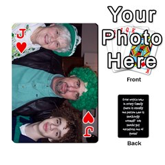 Jack Cathycards By Cheryl   Playing Cards 54 Designs   Kuyf3e8c3epi   Www Artscow Com Front - HeartJ