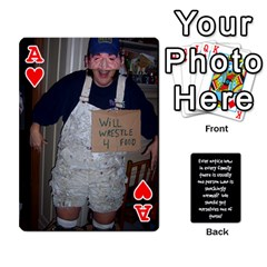 Ace Cathycards By Cheryl   Playing Cards 54 Designs   Kuyf3e8c3epi   Www Artscow Com Front - HeartA