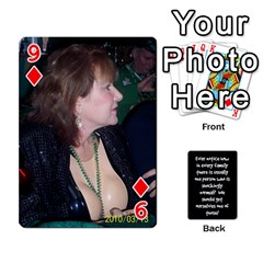 Cathycards By Cheryl   Playing Cards 54 Designs   Kuyf3e8c3epi   Www Artscow Com Front - Diamond9