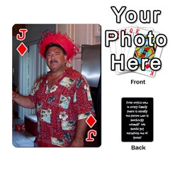 Jack Cathycards By Cheryl   Playing Cards 54 Designs   Kuyf3e8c3epi   Www Artscow Com Front - DiamondJ