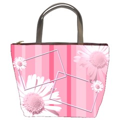 Pink Bucket Bag By Add In Goodness And Kindness   Bucket Bag   Tgfn424y4s3y   Www Artscow Com Front
