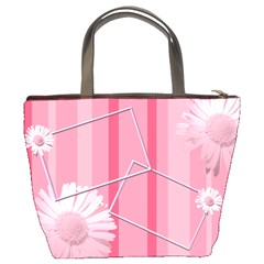 Pink Bucket Bag By Add In Goodness And Kindness   Bucket Bag   Tgfn424y4s3y   Www Artscow Com Back