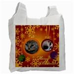 christmas - Recycle Bag (Two Side)