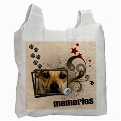 Memories Pet By Joely   Recycle Bag (two Side)   Qq1fb2uadfdv   Www Artscow Com Front