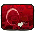 I Heart You Moon 10 13 inch (XL) Netbook Case - Netbook Case (XL)