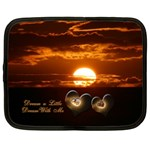 Dream a Little Dream with Me 13 inch (XL) Netbook Case - Netbook Case (XL)