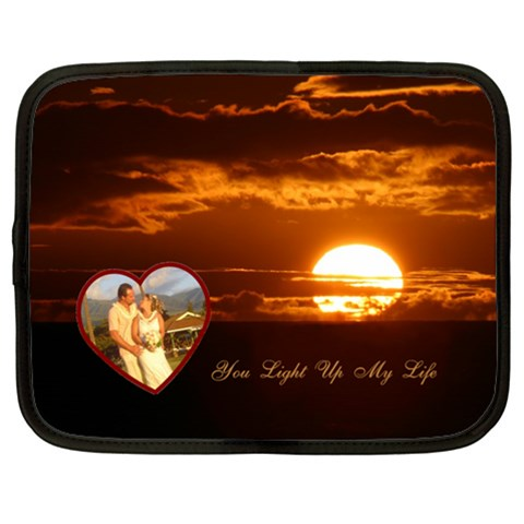 You Light Up My Life2 Love 13 Inch (xl) Netbook Case By Ellan   Netbook Case (xl)   Mmnxsjp1wjw0   Www Artscow Com Front