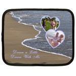 Dream a Little Dream with Me ocean 13 inch (XL) Netbook Case - Netbook Case (XL)
