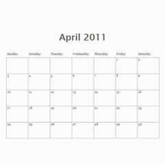 Calendar2011 By Snezhana Angelova   Wall Calendar 11  X 8 5  (12 Months)   H4x5jxlzoe0m   Www Artscow Com Apr 2011
