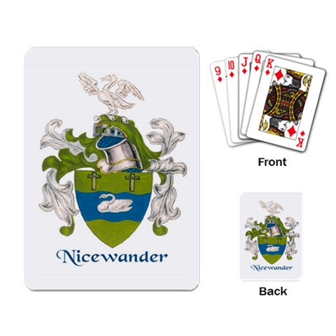 Nicewander Playing Cards By Laurrie   Playing Cards Single Design   9fngs8x8s8bb   Www Artscow Com Back