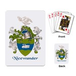 Nicewander playing cards - Playing Cards Single Design