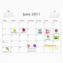 Mom s Calendar By Linda Larsen   Wall Calendar 11  X 8 5  (12 Months)   1ej0fvcthhk4   Www Artscow Com Jun 2011