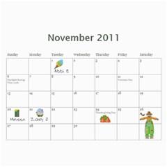Mom s Calendar By Linda Larsen   Wall Calendar 11  X 8 5  (12 Months)   1ej0fvcthhk4   Www Artscow Com Nov 2011