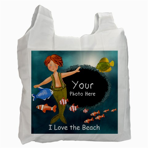 Lilbeachbag By Lillyskite   Recycle Bag (one Side)   Zj56rqg7dqjt   Www Artscow Com Front
