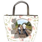 Love Flower Bucket Bag