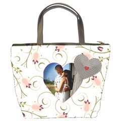 Love Flower Bucket Bag By Lil    Bucket Bag   Nipc11yx5cf7   Www Artscow Com Back