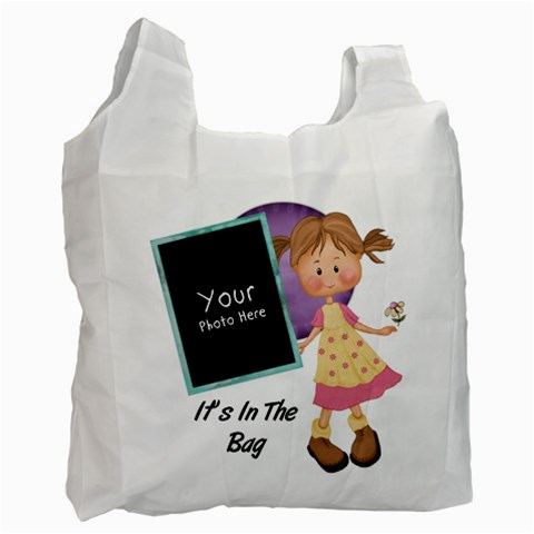 Itsinthebag Lil By Lillyskite   Recycle Bag (one Side)   6jk43bzy8c5j   Www Artscow Com Front