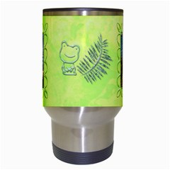 Frog Salad Travel Mug By Joan T   Travel Mug (white)   C9yzbq6f02qp   Www Artscow Com Center